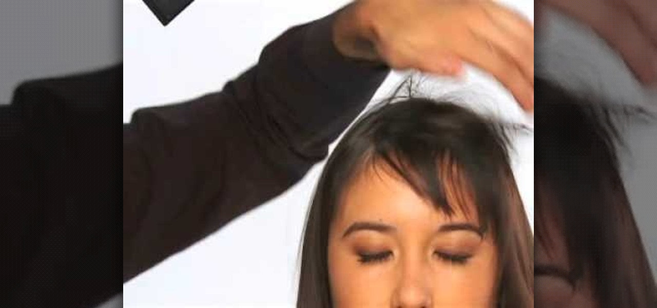 How To Style Your Short Front Bangs Three Different Ways