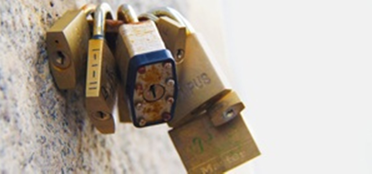 How To: Unlock Padlocks Without a Key Using Cheap DIY Shims