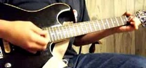 "Play ""Grow Old With You"" by Adam Sandler on guitar"