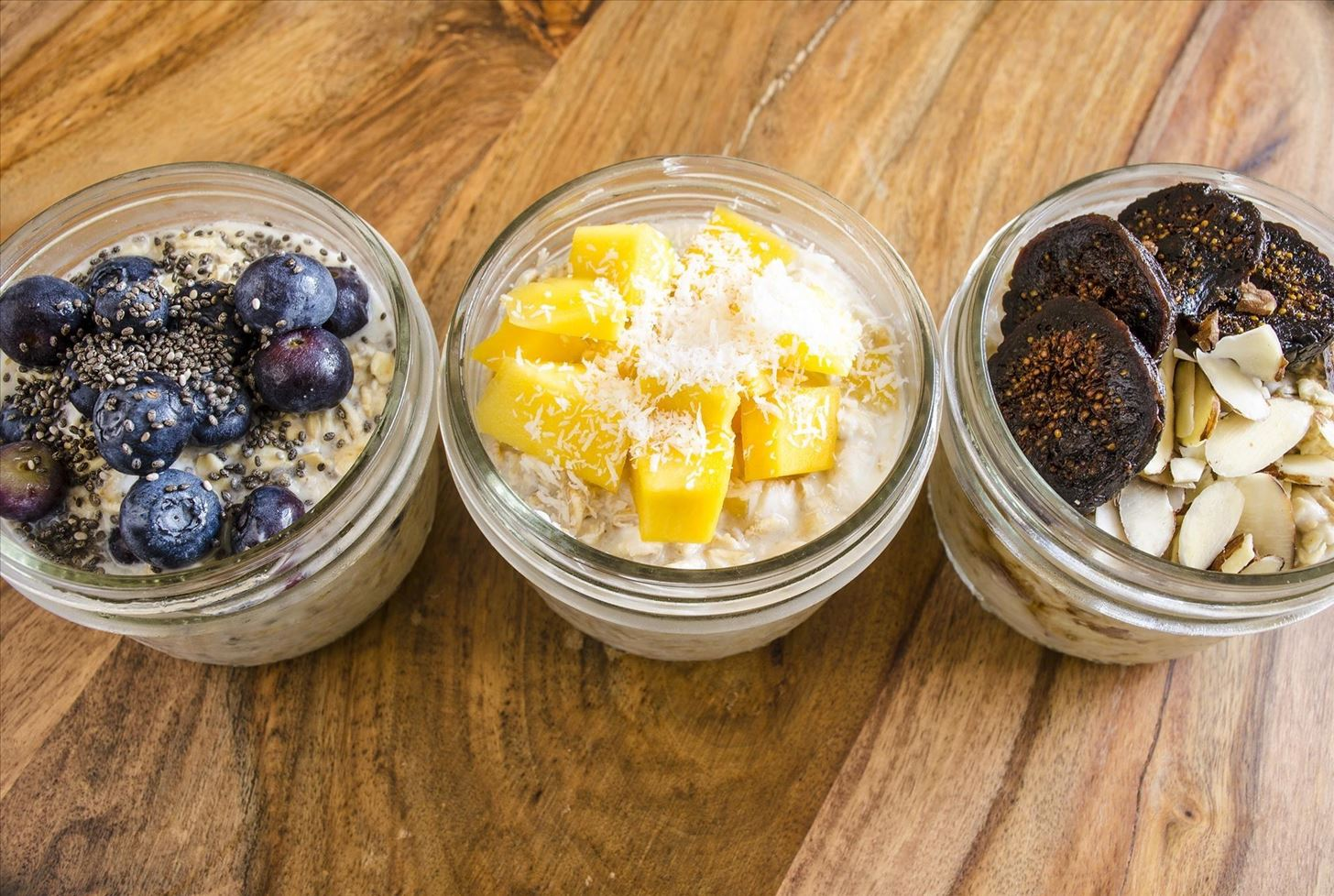 Prep Oats Overnight for Easy Grab-&-Go Breakfasts All Week