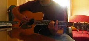 "Play ""Missing You"" by Johnny Cooper on acoustic guitar"