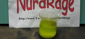 Test if a fertilizer has nitrates in it