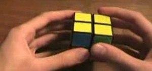 Solve a 2x2 Rubik's Cube