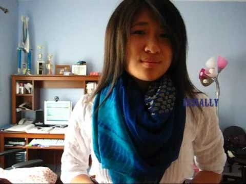 Wear a scarf for fall and winter