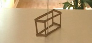 Make a three dimensional cube illusion