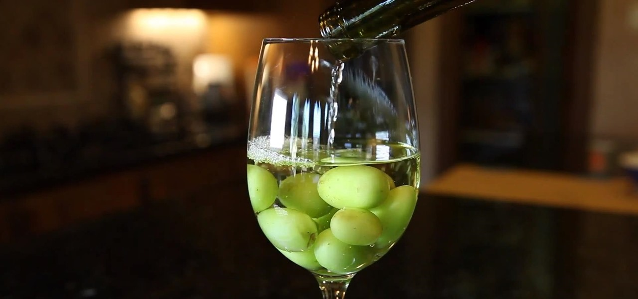 Chill Wine with Grapes