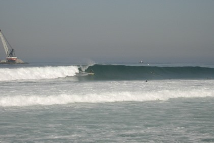 Goofy Looking for Lefts in Southern California