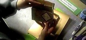 Make a small recipe card box