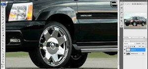 Change car rims and increase the size in Photoshop