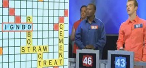Scrabble Showdown Game Show a Disgrace to Competitive Scrabblers Everywhere
