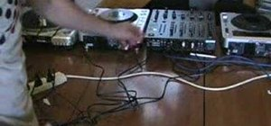 Keep your cables tidy as a DJ