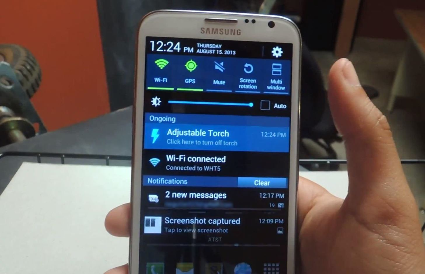 The Flashlight That Finally Lets You Adjust LED Brightness on Your Samsung Galaxy Note 2
