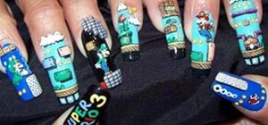 Ghetto Fabulous Super Mario Manicure