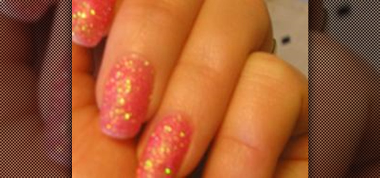 How to Paint Your Nails with Loose Glitter « Nails & Manicure ...