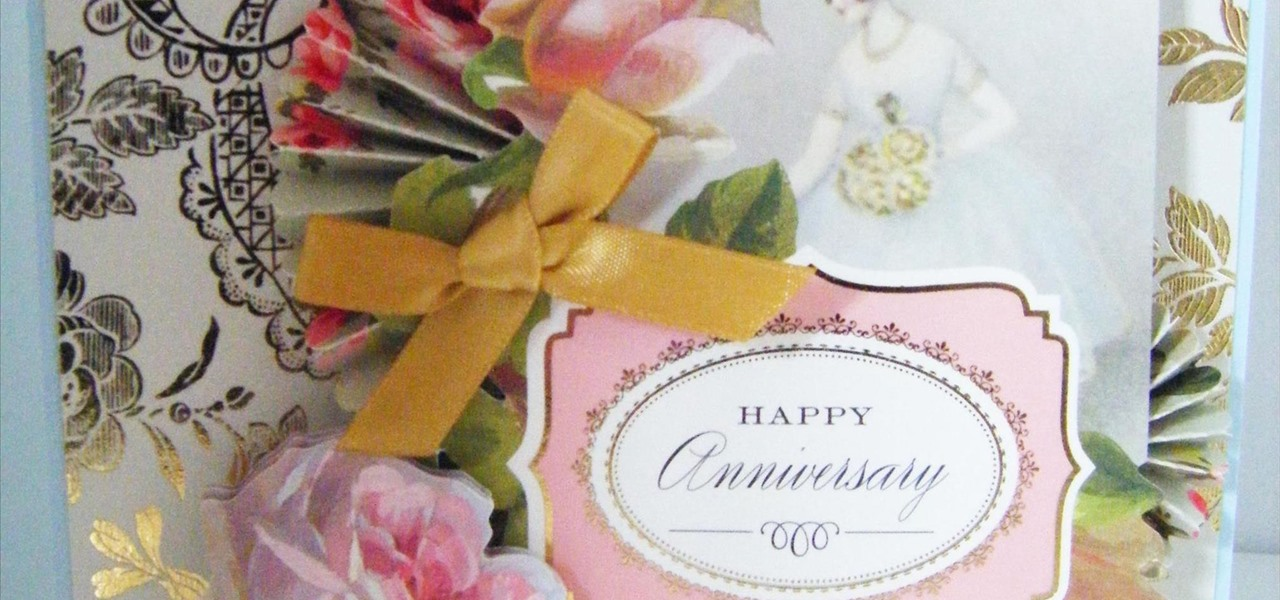 Make a Vintage Anniversary Topper Card