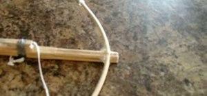 Make a chopstick crossbow