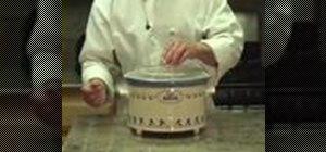 Cook a chicken chili verde in a crock pot
