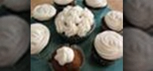 Bake pumpkin spice cupcakes