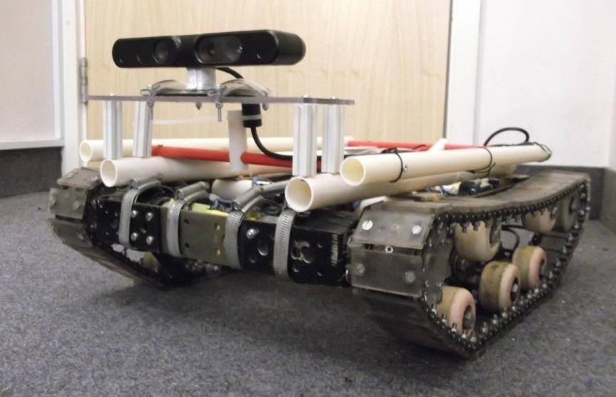 Meet Tanky: The Super Smart DIY Tank Robot That Can Map Its Own Surroundings