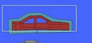 Make a 3D crash car in the Phun 2D physics sandbox