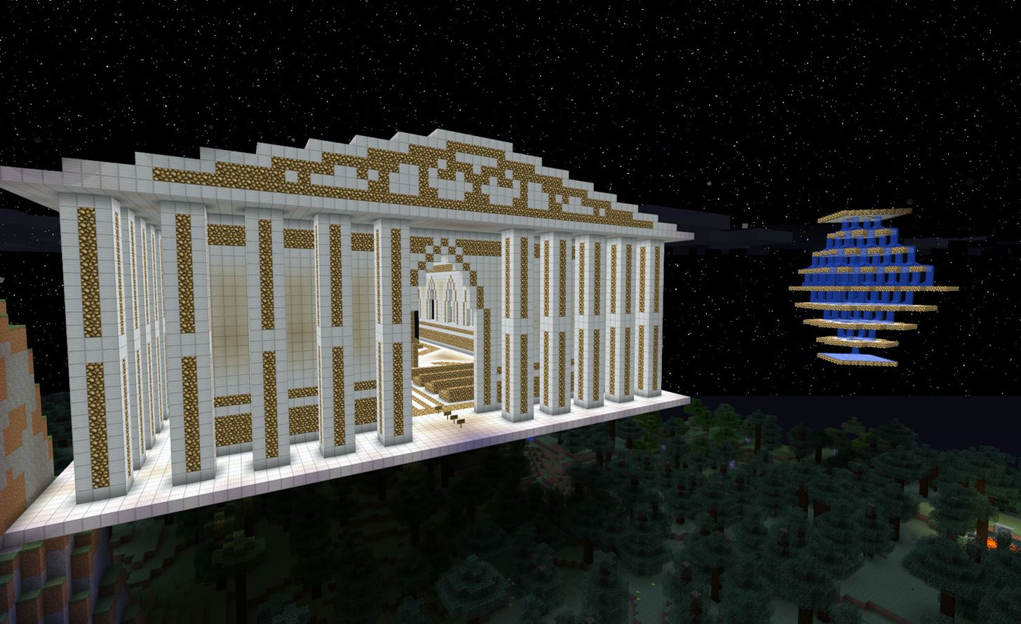 "Breathtaking ""City of the Gods"" by NEWDeStRoY1 Wins This Week's Minecraft Staff Choice Awards"