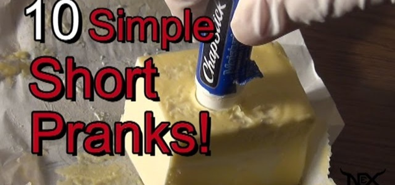 Funny Pranks: 10 Of The Best Simple Pranks! « Practical Jokes & Pranks