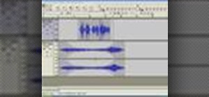 Export a podcast as an MP3 file using Audacity