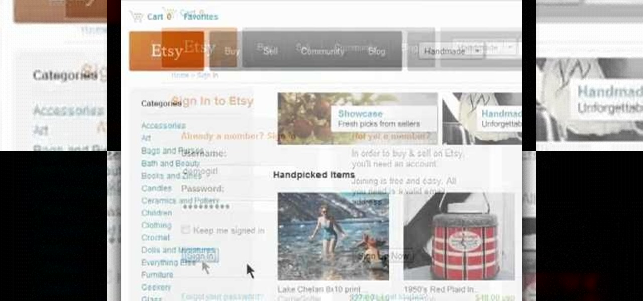 how to create an etsy account