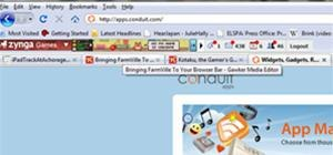 Add Farmville to your Browser Bar