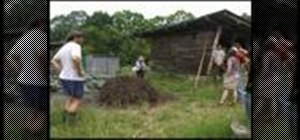 Compost organically at home