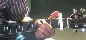 """""""Love Don't Live Here"""" on guitar"""