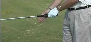 Grip the golf club correctly