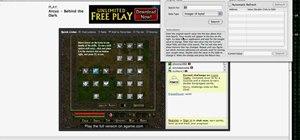 Hack money and points on Arcuz online (12/22/09)