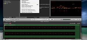 Export in HD in iMovie '09