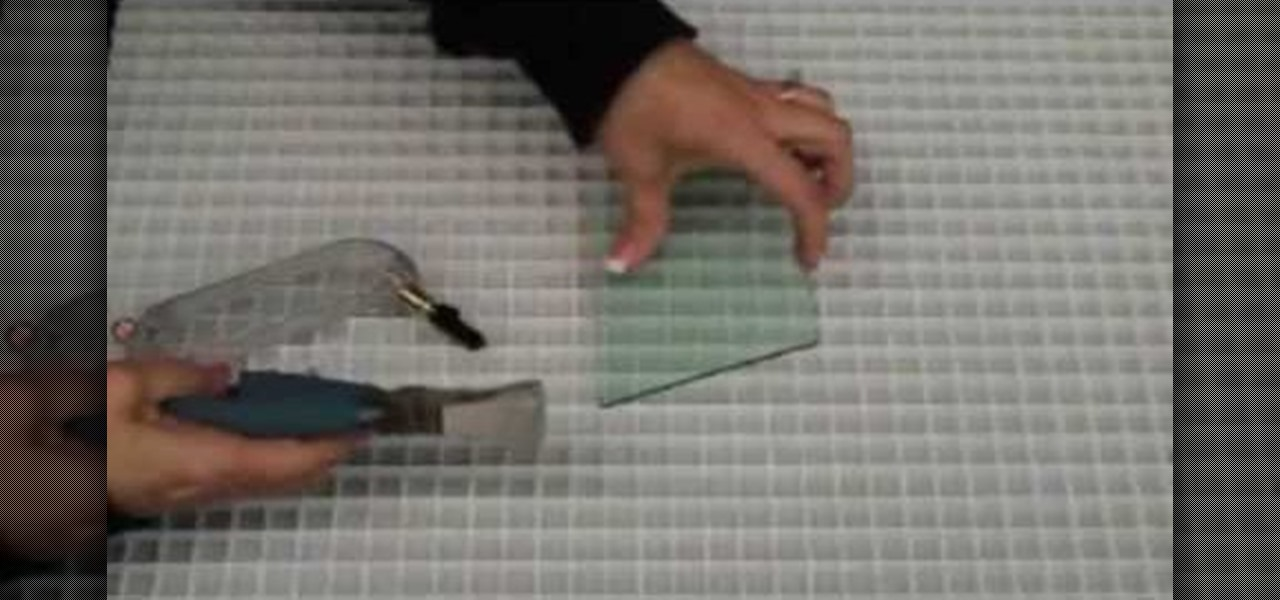 How To Use A Glass Cutter Runner Crafts Wonderhowto Cutting Mirror