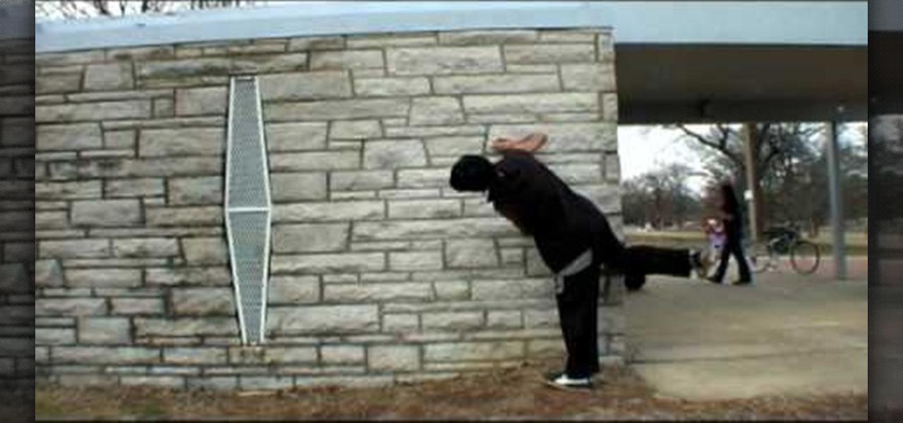parkour wall flip - photo #26