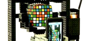 LEGO + Android + Robot + Rubik's Cube!