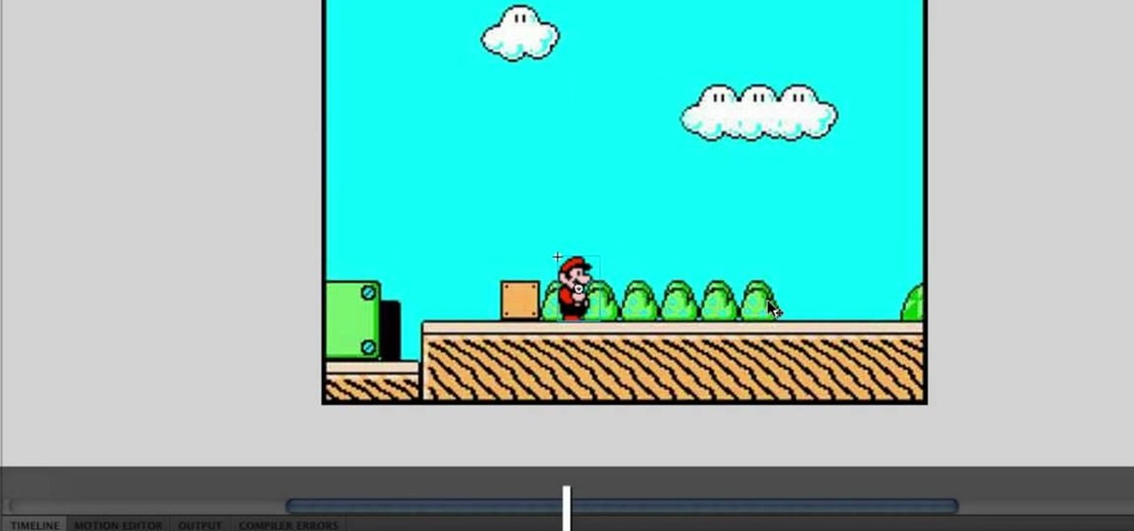 How To Use Sprites Or Animated Gifs To Recreate An Old Video Game Adobe Flash Wonderhowto