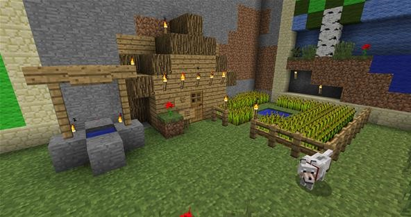 minecraft: much to do about gardens « load save :: wonderhowto