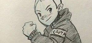 How To Draw A Teenage Manga Boy Drawing Illustration Wonderhowto