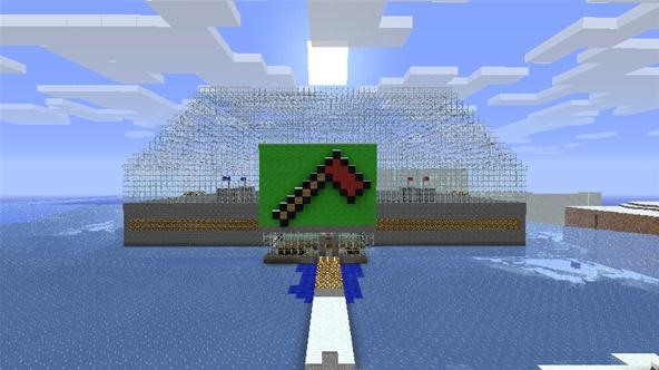 The Minecraft World Server Now Has a Capture the Flag Arena