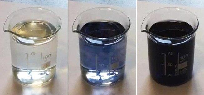Как сделать раствор черного цвета