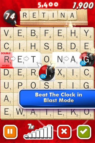 SCRABBLE Blast from EA now available on the iOS App Store