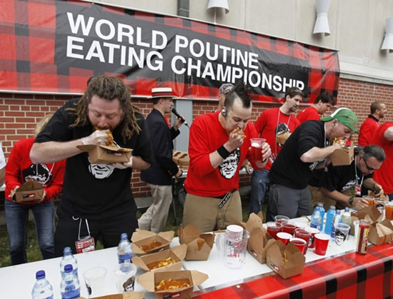 Try Stuffing Your Face With 5.9 Kilos of Poutine