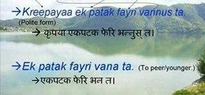 Speak Nepali