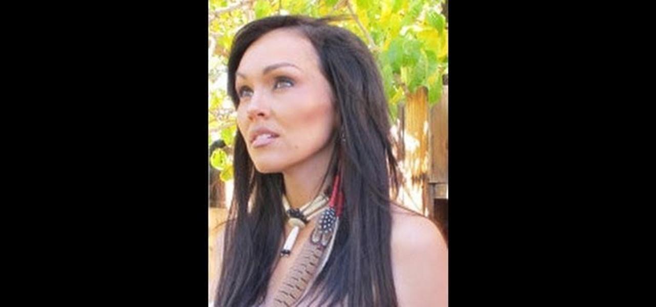 a Sexy Pocahontas Makeup