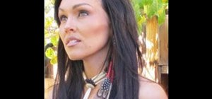 Create A Sexy Pocahontas Makeup Look For Halloween