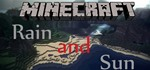 Minecraft Pc Game: Best View [Rain and Sun Together]