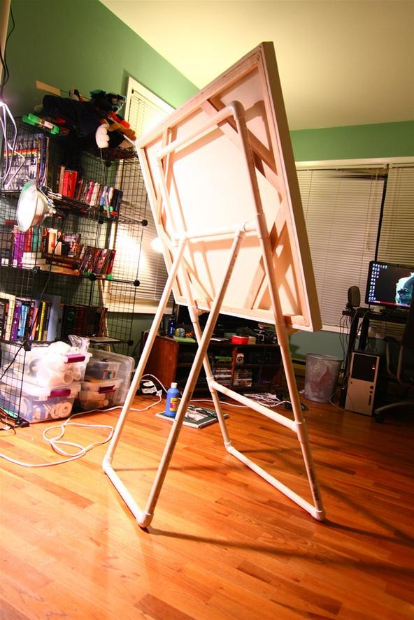 How To Build An Easel With Pvc