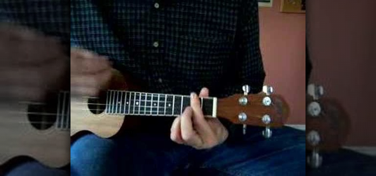 how to play tiny bubbles in the key of d on the uke ukulele wonderhowto. Black Bedroom Furniture Sets. Home Design Ideas